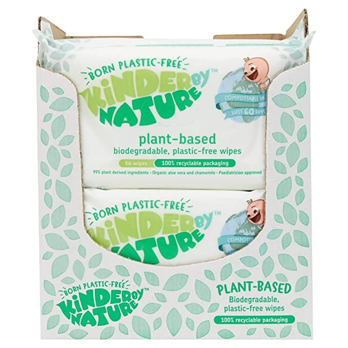 "<h2>Kinder by Nature Plant-Based Baby Wipes</h2><br>Many moms experience guilt when purchasing a plethora of disposable diapers, which can be balanced by indulging in these plant-based compostable wipes. <br><br><strong>kinder by nature</strong> Kinder by Nature Plant Based Baby Wipes, $, available at <a href=""https://www.amazon.com/gp/product/B07TXJYP2F/ref=ppx_yo_dt_b_asin_title_o00_s00"" rel=""nofollow noopener"" target=""_blank"" data-ylk=""slk:Amazon"" class=""link rapid-noclick-resp"">Amazon</a>"