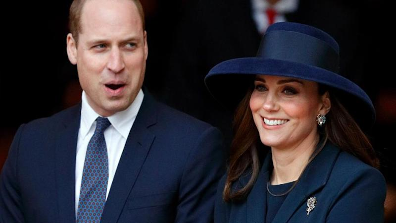 Kate is due to give birth any day now. Source: Getty