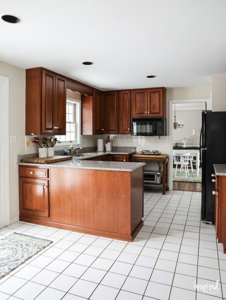 <p>This kitchen received a total overhaul, including completely new custom cabinets.</p>