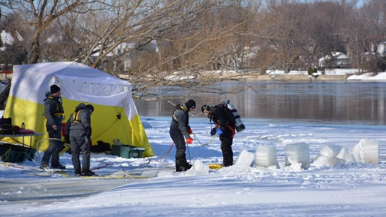Police call off search in icy river for missing Montreal boy