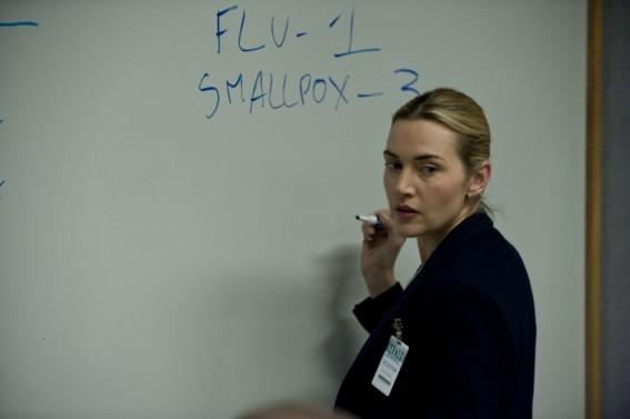Kate Winslet in Contagion (Credit: Warner Bros)