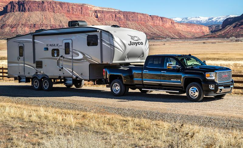 2019 Gmc Sierra 2500hd Towing Capacity Chart | 2019 Trucks