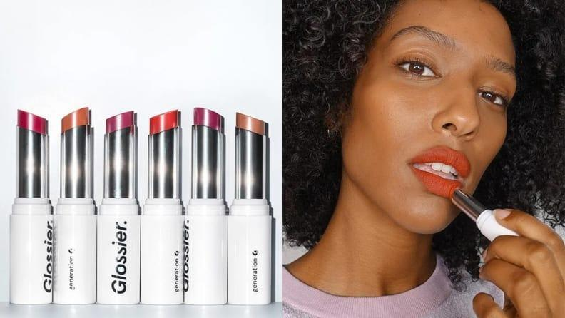 Best gifts for mom: Glossier lip products