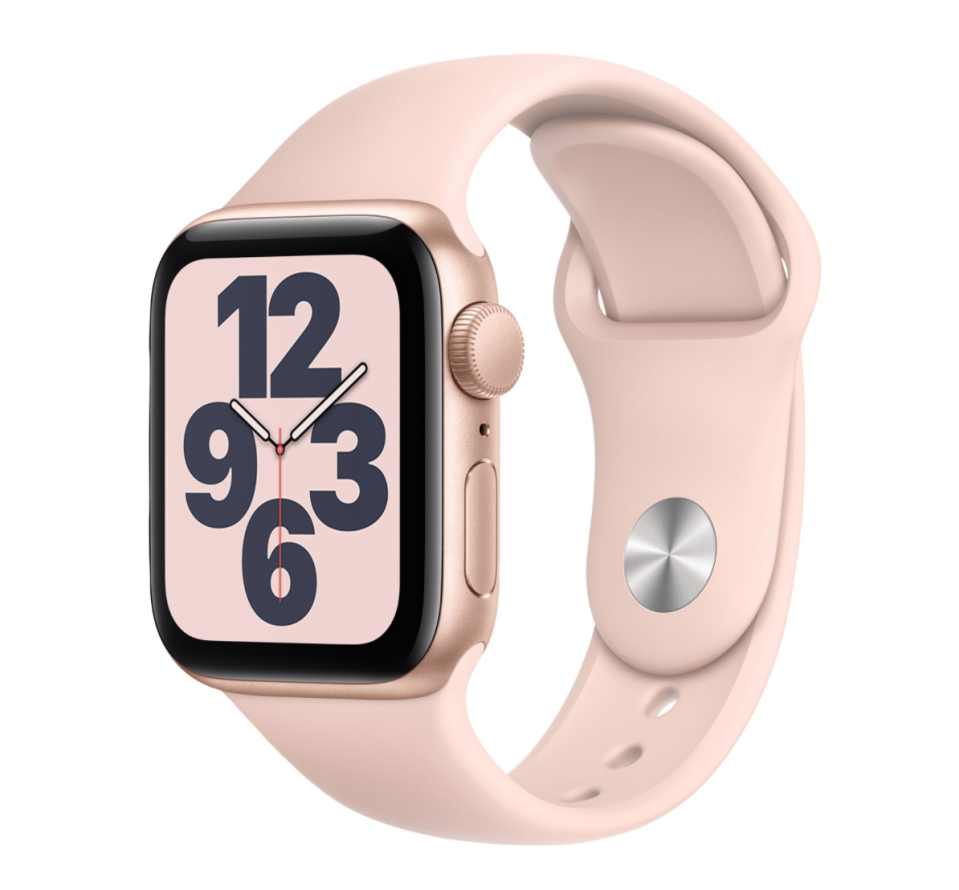 Apple Watch SE (GPS) 40mm. Image via Best Buy.