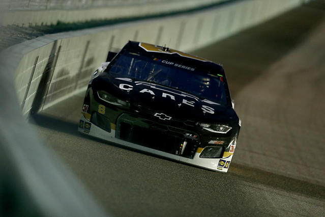 Tyler Reddick lost count of laps on Sunday night but still finished fourth. If you've ever missed your exit or turn on the highway, you can relate. (Photo by Michael Reaves/Getty Images)