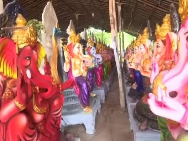 Idols of Lord Ganesh (Picture/ANI)