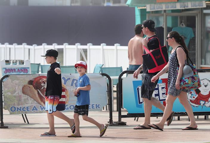 More families, not students, are heading to Daytona Beach, Fla., this spring.