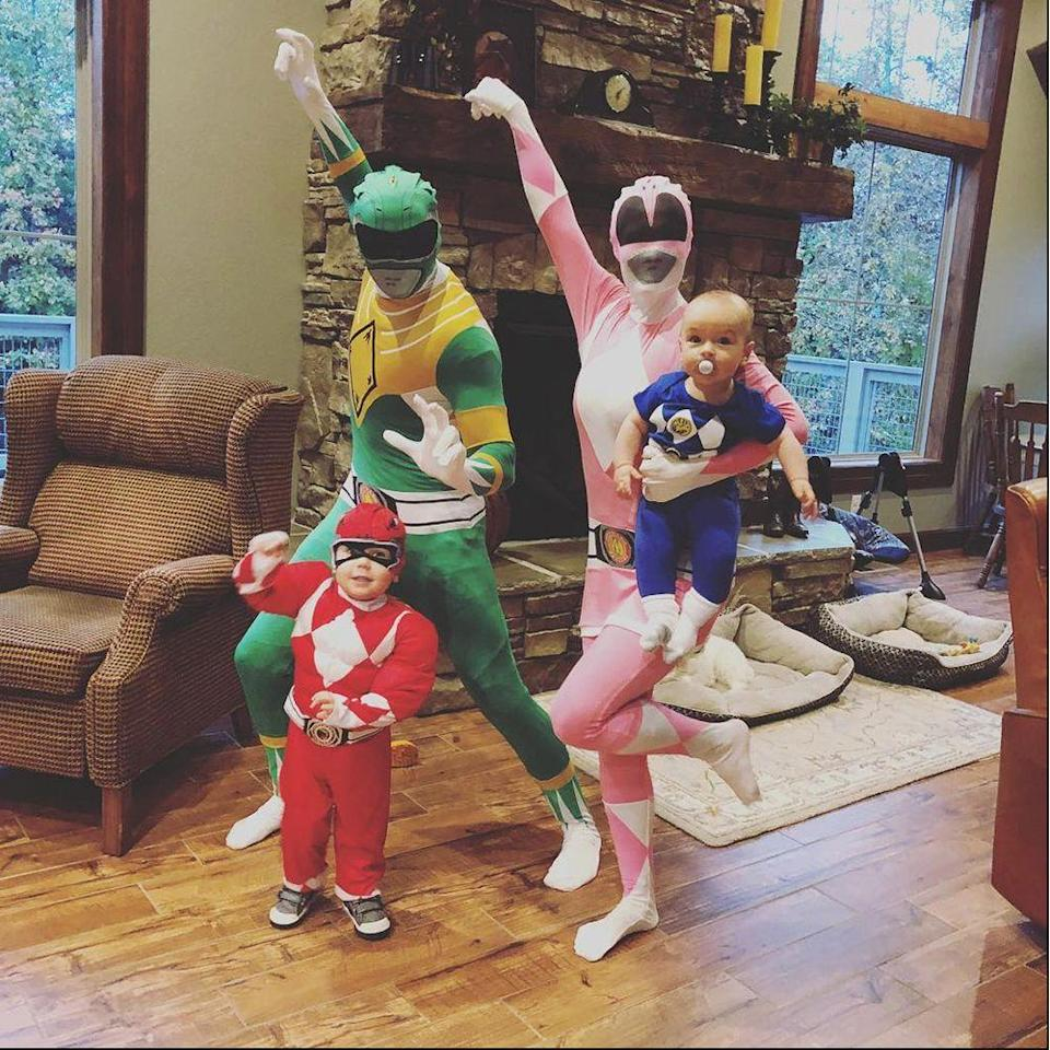 """<p>Go, go Power Rangers! Your fam might not be out saving the world, but you all will <em>feel</em> like it in these Power Rangers costumes.</p><p><a class=""""link rapid-noclick-resp"""" href=""""https://www.amazon.com/s?k=power+rangers+costume&crid=2SFKV6CFUYH44&sprefix=Power+Rangers+COST%2Caps%2C187&ref=nb_sb_ss_i_1_18&tag=syn-yahoo-20&ascsubtag=%5Bartid%7C2089.g.22530616%5Bsrc%7Cyahoo-us"""" rel=""""nofollow noopener"""" target=""""_blank"""" data-ylk=""""slk:SHOP THE LOOKS"""">SHOP THE LOOKS</a></p><p><strong>Instagram:</strong> <a href=""""https://www.instagram.com/p/BqY0qzzhE_F/"""" rel=""""nofollow noopener"""" target=""""_blank"""" data-ylk=""""slk:@katelyns_learning_studio"""" class=""""link rapid-noclick-resp"""">@katelyns_learning_studio</a></p>"""