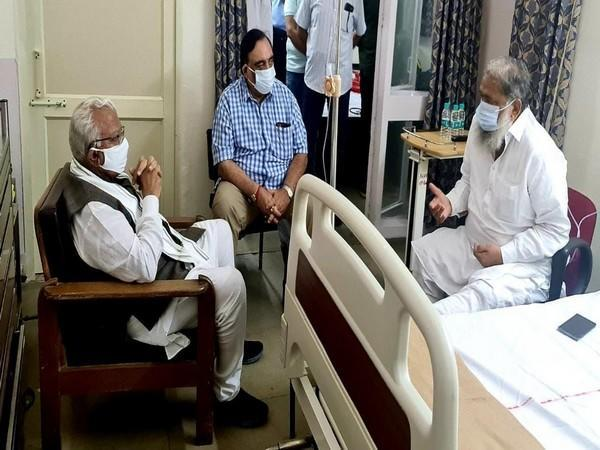 Health Minister Anil Vij was admitted to PGIMER in Chandigarh