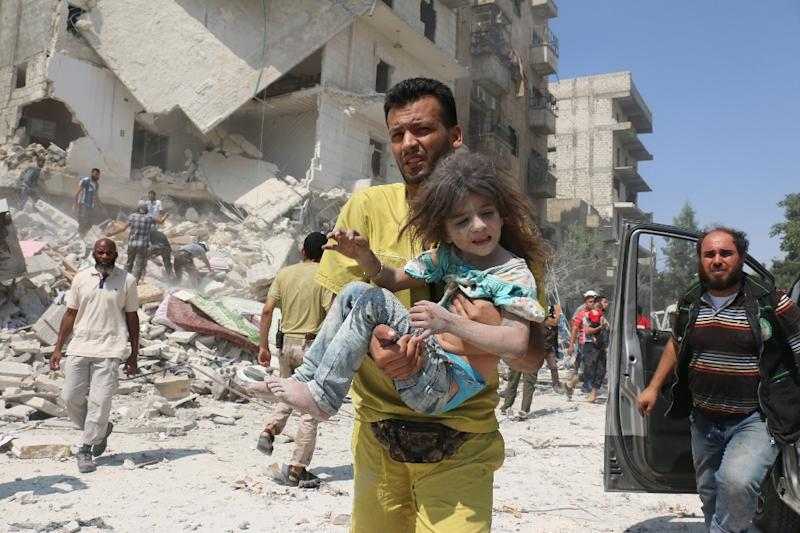 Russia has repeatedly blocked UN moves to refer war crimes in Syria to the ICC (AFP Photo/Ameer Alhalbi)