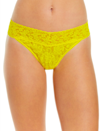 """Another favorite from Hanky Panky, this regular-rise thong means not a panty line in sight. $22, Nordstrom. <a href=""""https://www.nordstrom.com/s/hanky-panky-regular-rise-lace-thong-buy-more-save/2977615"""" rel=""""nofollow noopener"""" target=""""_blank"""" data-ylk=""""slk:Get it now!"""" class=""""link rapid-noclick-resp"""">Get it now!</a>"""