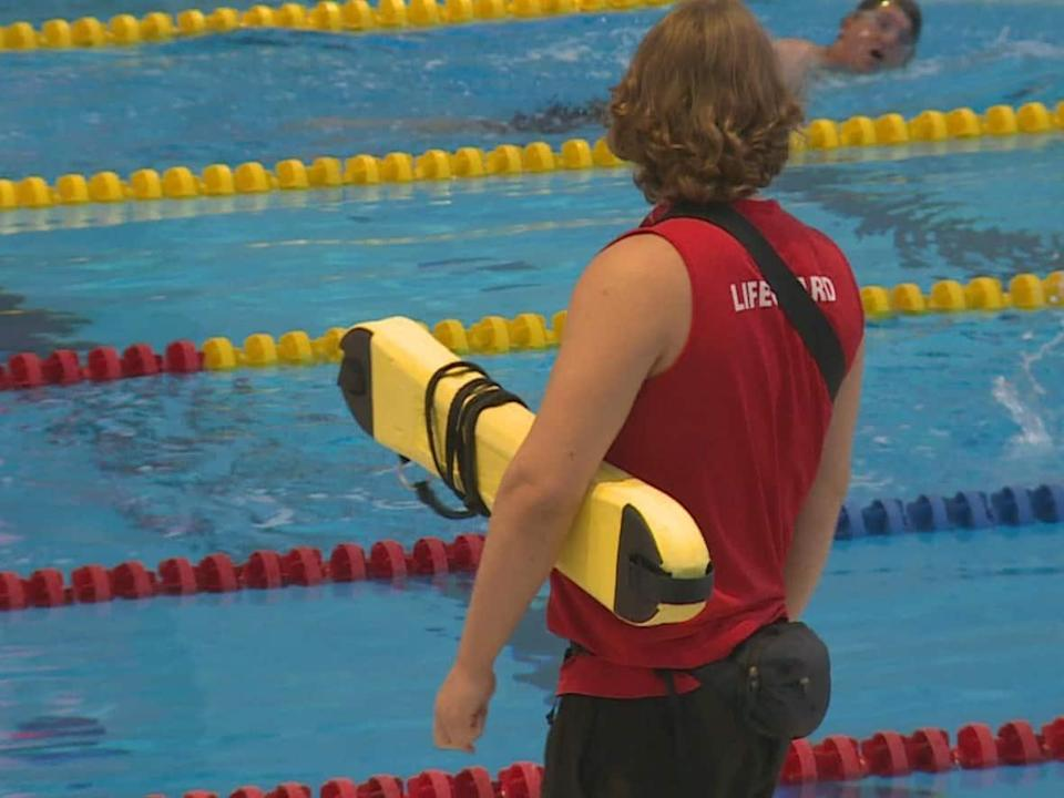Certified lifeguards are currently in high demand in Greater Victoria. The YWCA and multiple municipalities in the area, including the District of Saanich and the Township of Esquimalt, are trying to find eligible candidates to fill the numerous vacancies. (Helen Pike/CBC - image credit)