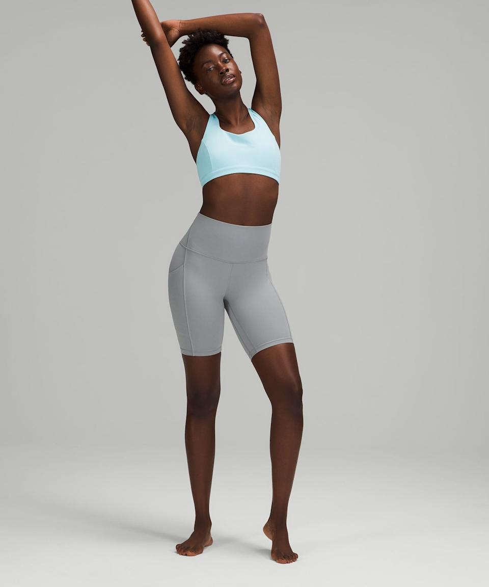 """<p>The buttery soft <span>Lululemon Align High Rise Short with Pockets 8""""</span> ($68) are a summer take on the brand's beloved Align leggings, and they're as comfortable as you'd imagine.</p>"""
