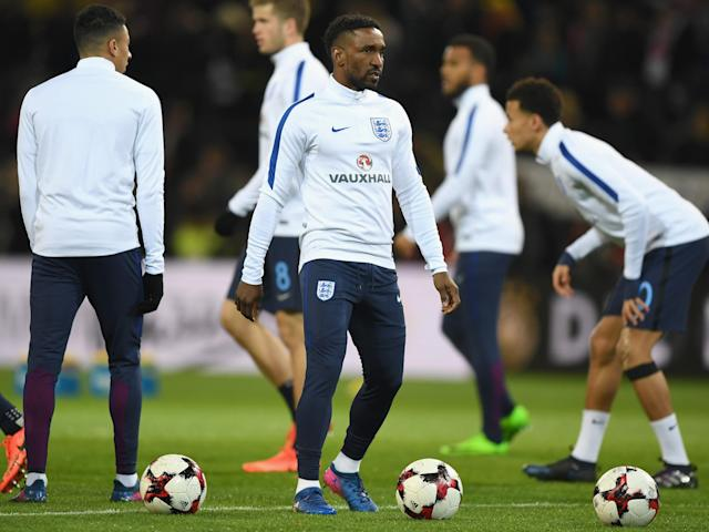 Defoe's last start came against San Marino in 2013: Getty