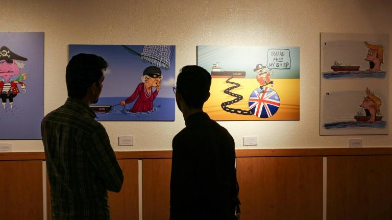 "Visitors say they have been impressed by the ""Pirates of the Queen"" cartoon exhibition, saying they find it ""empowering"""