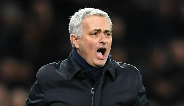 The decision to schedule Tottenham's meeting with Aston Villa on a Sunday has angered Jose Mourinho.