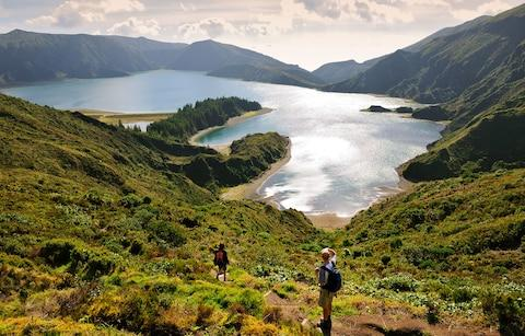 Lagoa do Fogo San Miguel, Azores - Credit: Getty