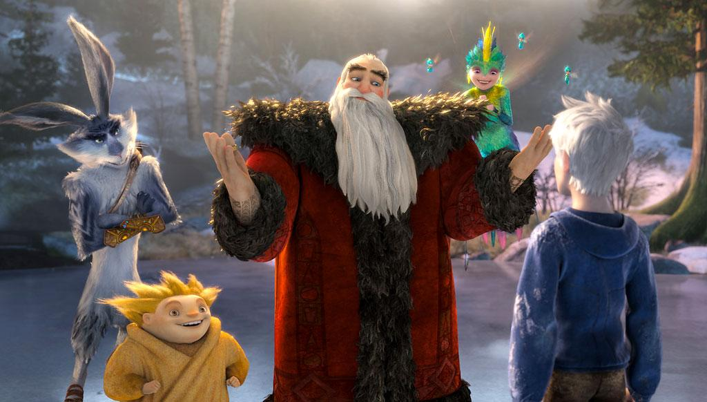 "Santa in ""Rise of the Guardians"""
