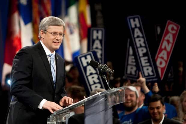 The Conservatives won 166 seats in the 2011 federal election with just under 40 per cent of the popular vote.
