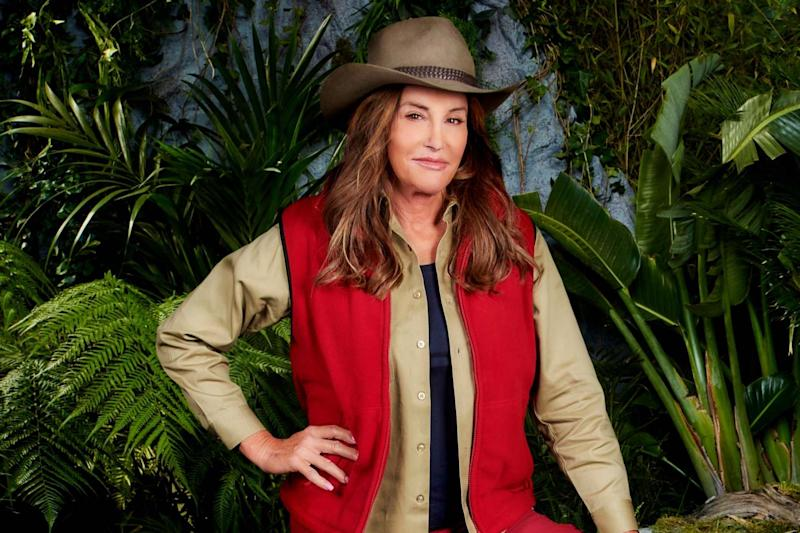 Adventurous: Caitlyn skydived into the I'm A Celebrity camp (ITV/PA Wire)