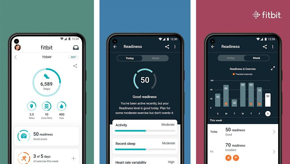 fitbit 5 charge daily readiness feature