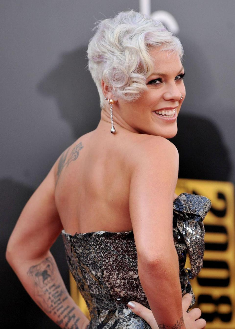 """<p>With lyrics like """"I guess I just lost my husband/I don't know where he went,"""" it's not so surprising to find out that this song is about <a href=""""https://www.goodhousekeeping.com/health/a32143522/pink-husband-carey-hart-son-jameson-coronavirus-symptoms/"""" rel=""""nofollow noopener"""" target=""""_blank"""" data-ylk=""""slk:Pink's husband, Carey Hart"""" class=""""link rapid-noclick-resp"""">Pink's husband, Carey Hart</a>. They were estranged at the time, but he appeared in the music video for the song. Pink said in <a href=""""https://www.mirror.co.uk/3am/celebrity-news/pink-reveals-she-tricked-ex-husband-338599"""" rel=""""nofollow noopener"""" target=""""_blank"""" data-ylk=""""slk:an interview with Radio 1"""" class=""""link rapid-noclick-resp"""">an interview with Radio 1</a> that she convinced him to star in the video, but he didn't know what the song was about until he got to the set. </p>"""