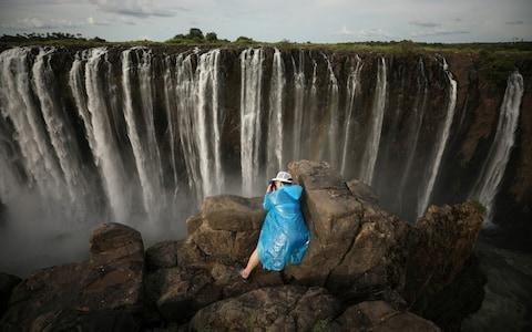 The falls in January this year  - Credit: Mike Hutchings/Reuters