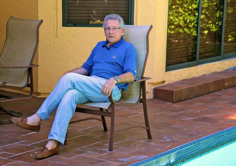 In this undated photo, Jay Baker, 69, poses in his home in Boca Raton, Fla. Baker owns a flooring business whose revenue dropped after the housing bust. Recently, though, Baker has begun to enjoy a recovery. Polls consistently find that the economy is the top concern of voters, and Romney tends to get an edge over Obama when people are asked who might do better with it. Whether that truly drives how Americans vote is a crucial question for Election Day. (AP Photo/Robert Ray)