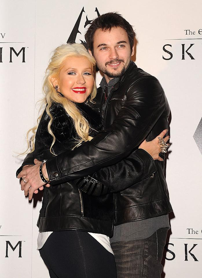 "After splitting from her husband, A&R exec Jordan Bratman in 2010, Christina Aguilera rebounded with another non-Hollywood type: Matt Rutler, a production assistant on her movie, ""Burlesque."" ""The Voice"" coach's new beau shares her love of partying. Last March, the two were arrested -- he for DUI, she for public intoxication -- after a wild night out in West Hollywood. (11/8/2011)"