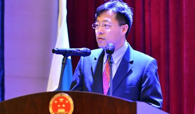 Zhao Lijian is the deputy chief of mission at the Chinese embassy in Islamabad. Photo: Weibo