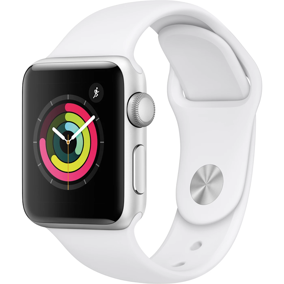 "<h3>Apple Watch Series 3</h3> <br><strong>Best For: The</strong> <strong>Med-School Grad<br>Budget: Under<br></strong> <strong>$200</strong><br>Turn the classic graduation-watch custom on its head with a tech-savvy stunner that will keep your doctor-to-be always tapped-in and on-schedule.<br><br><em>Shop <strong><a href=""https://www.walmart.com/cp/1229722"" rel=""nofollow noopener"" target=""_blank"" data-ylk=""slk:Apple"" class=""link rapid-noclick-resp"">Apple</a></strong></em><br><br><strong>Apple</strong> Watch Series 3 GPS 38mm Sport Band, Aluminum Case, $, available at <a href=""https://go.skimresources.com/?id=30283X879131&url=https%3A%2F%2Fwww.walmart.com%2Fip%2FApple-Watch-Series-3-GPS-38mm-Sport-Band-Aluminum-Case%2F499753351"" rel=""nofollow noopener"" target=""_blank"" data-ylk=""slk:Walmart"" class=""link rapid-noclick-resp"">Walmart</a><br><br><br><br>"