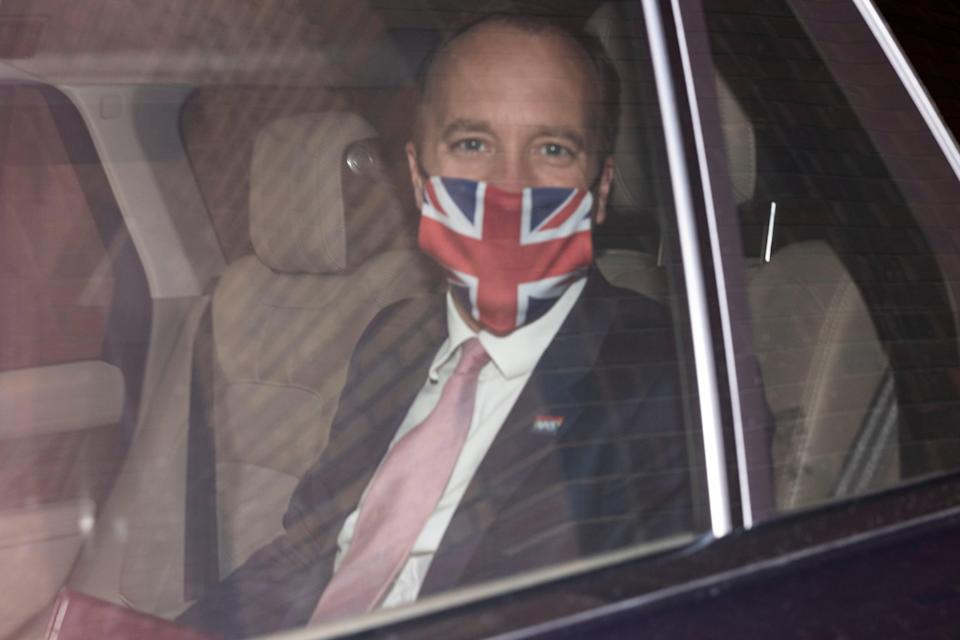 'Hancock ought to resign as a matter of honour rather than wait to be fired' (Getty Images)