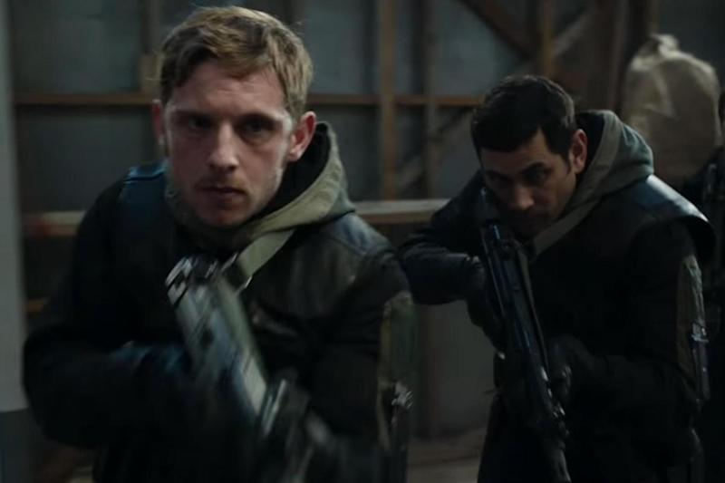 In action: Jamie Bell as SAS soldier Firmin