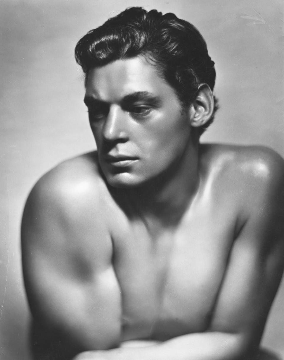 Actor Johnny Weissmuller (Photo by �� John Springer Collection/CORBIS/Corbis via Getty Images)
