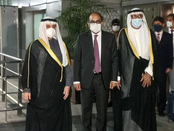 Kuwait Foreign Minister arrives in India