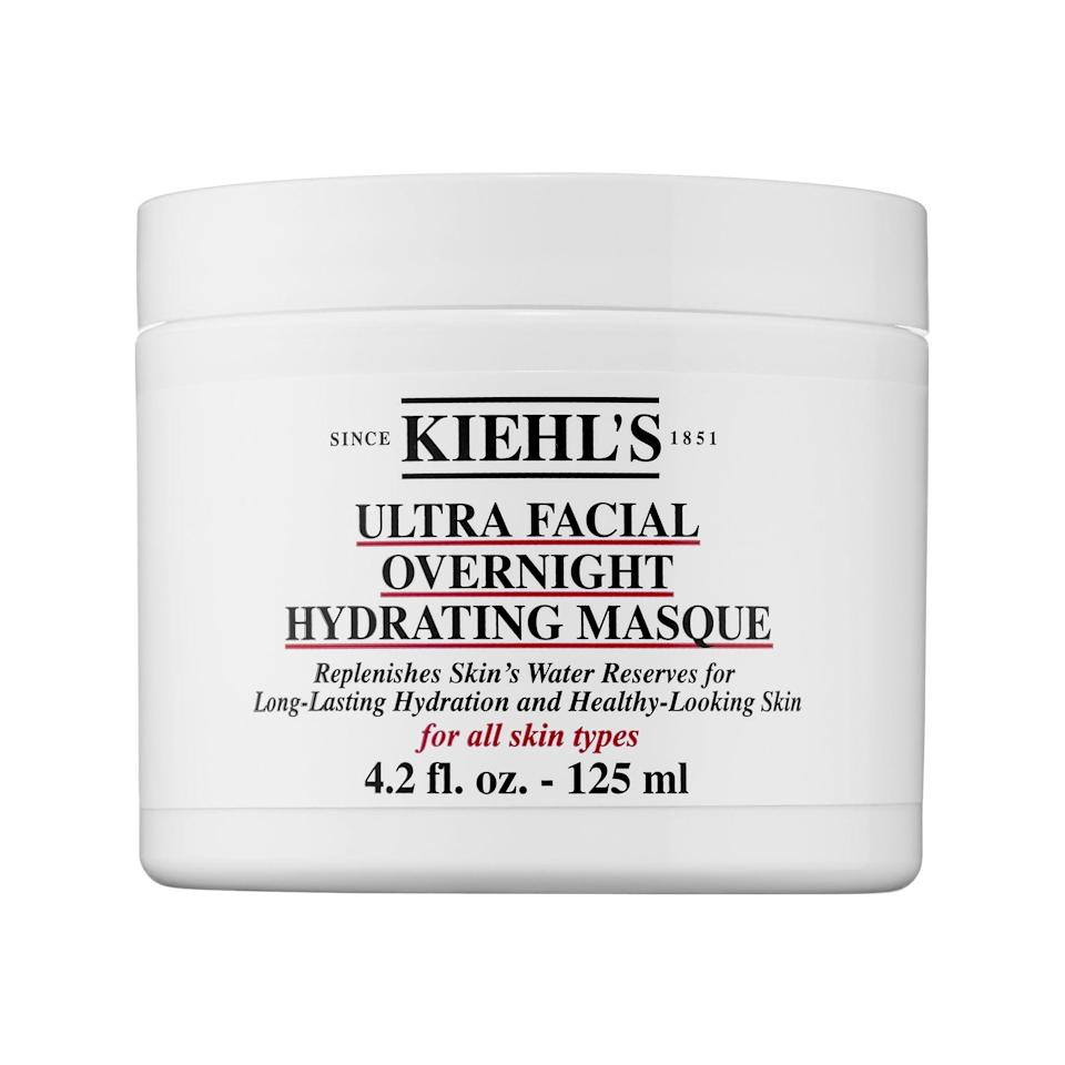 <p>We love everything from the Kiehl's Ultra Facial line, and this <span>Kiehl's Since 1851 Ultra Facial Overnight Hydrating Mask</span> ($35) is no exception. Rich and luxurious, you'll wake up to seriously hydrated skin.</p>