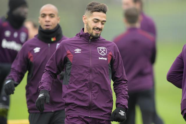 West Ham boosted by Manuel Lanzini return ahead of Stoke clash as Andy Carroll resumes training