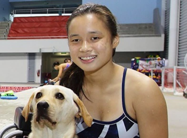 Singapore para-swimmer Sophie Soon, who will be taking part at the Tokyo Paralympics. (PHOTO: Singapore Disability Sports Council)