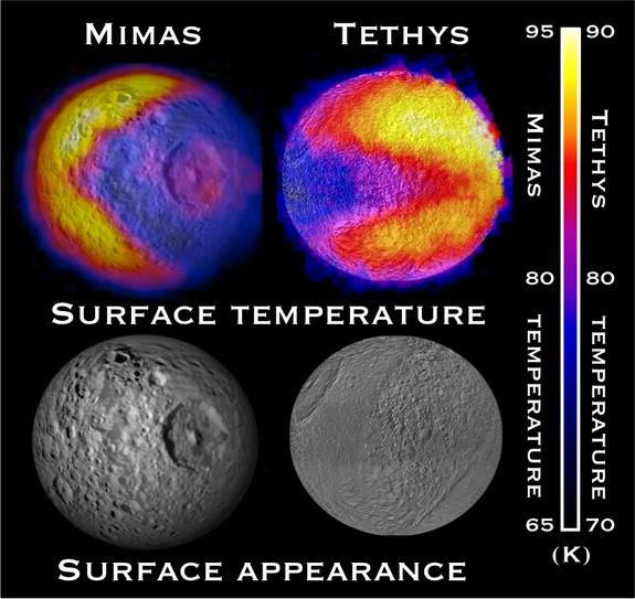 Saturn's Second 'Pac-Man' Moon Revealed in NASA Photos