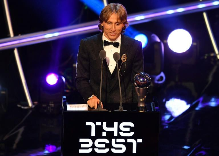 Luka Modric has already beaten Cristiano Ronaldo to the FIFA best player award