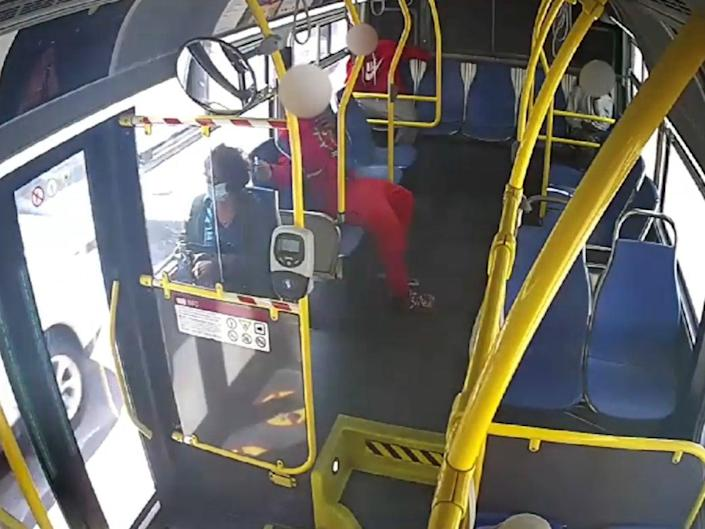 <p>San Francisco Police have released the footage in hopes of identifying the victim</p> (San Francisco Police Department)