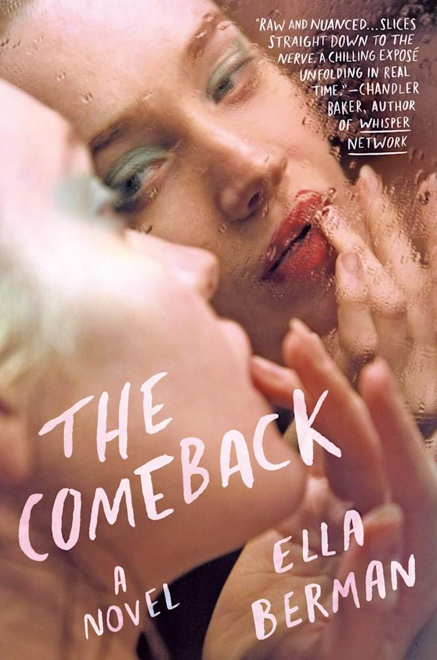 """<p>A young actress takes control of her life after being manipulated by a powerful Hollywood director in Ella Berman's <product href=""""https://www.amazon.com/Comeback-Ella-Berman/dp/0593099516"""" target=""""_blank"""" class=""""ga-track"""" data-ga-category=""""Related"""" data-ga-label=""""https://www.amazon.com/Comeback-Ella-Berman/dp/0593099516"""" data-ga-action=""""In-Line Links""""><strong>The Comeback</strong></product>. One year after disappearing from the spotlight, Grace is sober and ready to reconnect with the people she left behind, but when she's asked to present a lifetime achievement award to the man who almost destroyed her, Grace decides she's ready to fight back. </p> <p><em>Out Aug. 3</em></p>"""