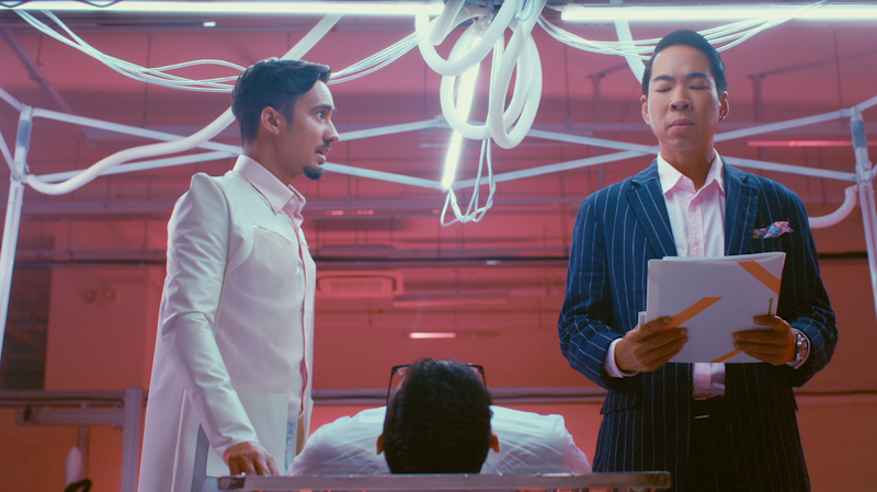 "Jamil S and Chua Enlai in Michael Chiang's ""Mixed Signals"" to be released on Mediacorp's Channel 5 and Toggle. (Photo: Mediacorp)"