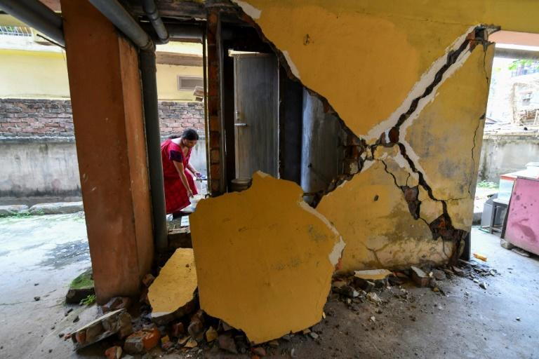 A 6.0 magnitude earthquake hit northeastern India on Wednesday