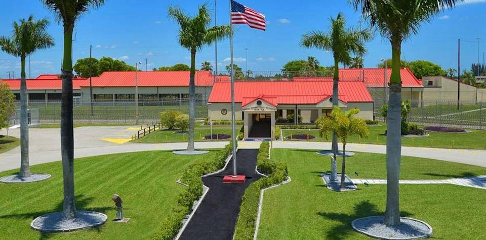 Federal Correctional Institution is located west of Miami.