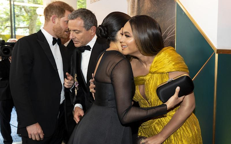 Red-carpet deals: Prince Harry asks Bob Iger if Meghan can work with Disney - Getty