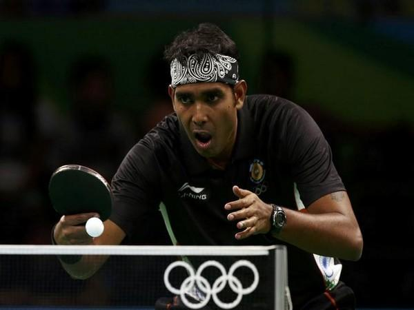 Indian table tennis player Achanta Sharath Kamal (File photo)