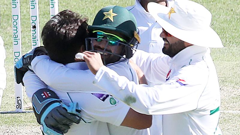 The Pakistan Test team has won praise, after a stpry of them shouting an Indian cab driver dinner was told by the ABC's cricket commentator Alison Mitchell. (Photo by Jono Searle - CA/Cricket Australia via Getty Images)