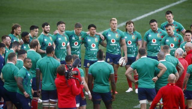 The Lions also come under fire from Rassie Erasmus