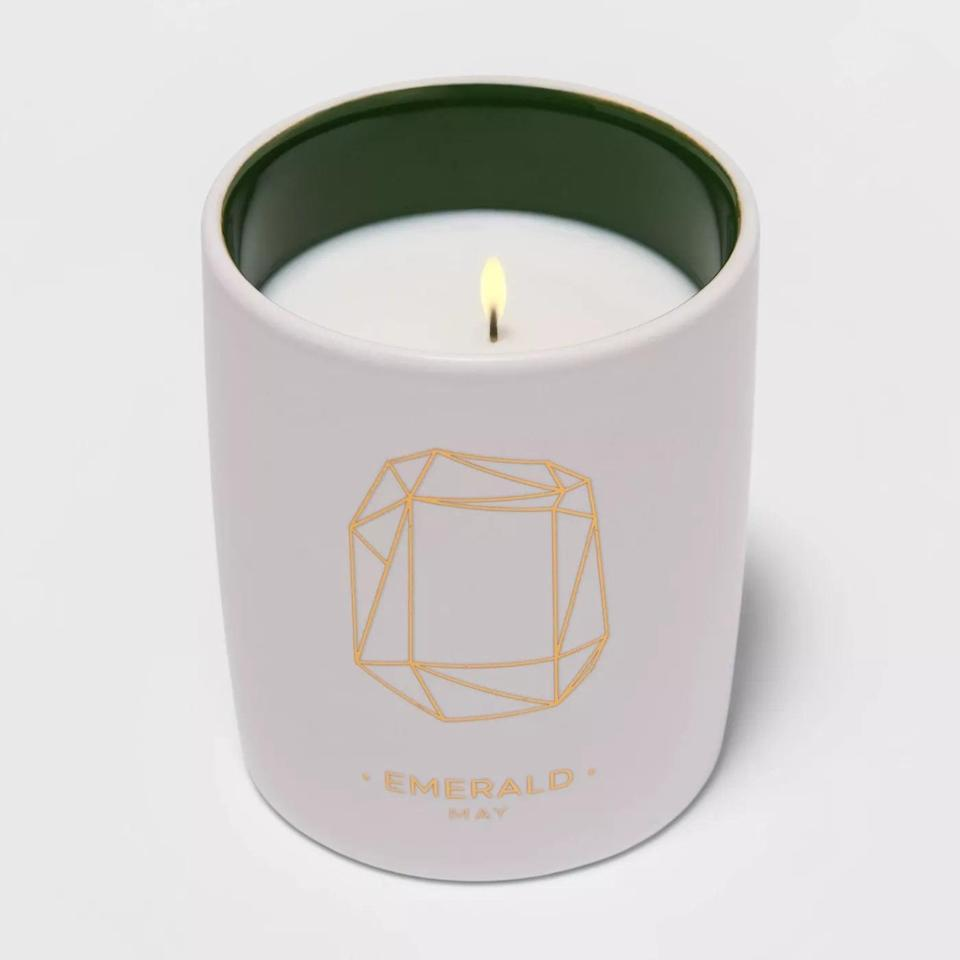 <p>If you know an astrology enthusiast, the <span>Project 62 Birthstone Ceramic Jar Candle</span> ($8) is the perfect spiritual gift.</p>